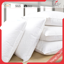 Rectangle shape and 100% cotton material duck down feather pillows