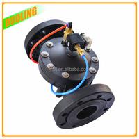 DN40 DN50 DN65 DN80 DN100 DN150 flange type plastic 24v hydraulic solenoid valve