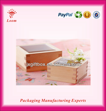 Customized luxury wooden treasure chest boxes