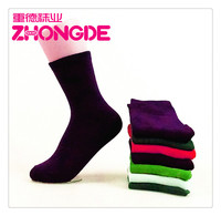 Hot cotton sock without spandex