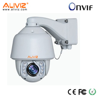 6 inch Speed Dome 1080p waterproof onvif ip ptz camera With CE Rohs FCC