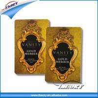 Individual Designed Free Samples Membership Silver VIP Card 12 years factory