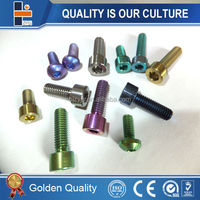 titanium bolt for motorcycle / bicycle