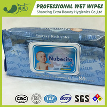 Natural OEM/ODM refreshing baby wies wet tissue