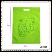 High Quality Colourful Nonwoven Die-cut Bag,Reusable Pouch Bag Die Cut Handle Bag For Shop