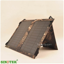 SINOTEK move power charger solar , portable solar panel bag for outdoor activity ,for travelling