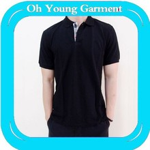 basic plain blank polo shirt oem bulk factury produce turtleneck brand man tshirt