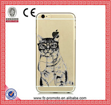 "Hot! cat Soft Silicon Phone Cases For Apple iPhone 6 4.7"" Case For iPhone6 Cover Shell"