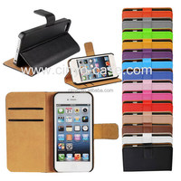 for apple iphone 5s wallet case with card slot book wallet flip cover, for iphone 5s leather case, for iphone 5s case