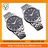 Factory supply luxury japan movement stainless steel watch