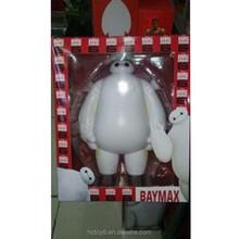 2015 Wholesale PVC 10cm White Big Hero Kettle version action figure