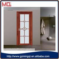 China manufacturer french door glass inserts, aluminum casement door with grll design