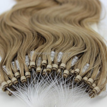 """fish wire hair extension from 10"""" to 30"""" micro loop hair"""