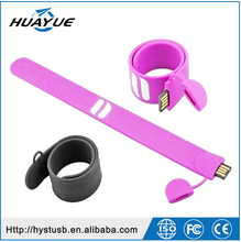 wholesale shenzhen factory promotonal gift wrist band wrist wraps usb flash drive usb pen drive with free sample