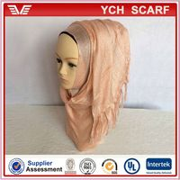 44 colors wholesale dubai muslim scarf