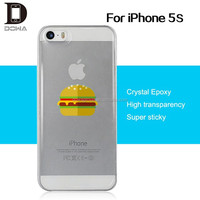 DOWA protective 3d crystal skin case for iPhone