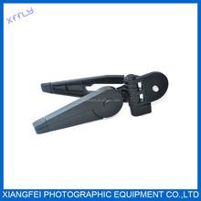 Mini desktop mounted camera tripod flexible plate type mini tripod for mobile phone