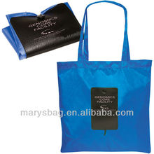190t polyester Fold A Tote Bag