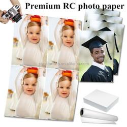 premium plus rc glossy photo paper/thin inkjet paper factory direct price