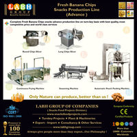 Natural Fresh Banana Crisps Processing Making Production Plant Manufacturing Line Machines for Sudan y729