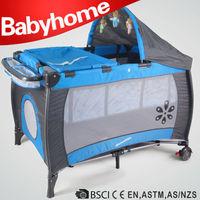 European standard baby play yard large dog baby playpen travel cot