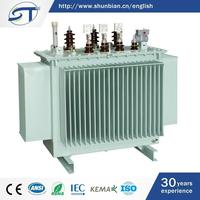 Three Phase Electrical Equipment New Items In China Market Oil Immersed Type 50 Kva Transformer