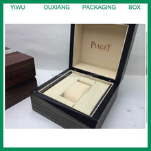 fancy shape luxury hot sale wooden watch box for top brand watch