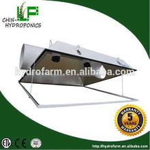 Solar hydroponics super large 6'',8'' air cooled reflector reflector glass lampshade 6 inch cool tube