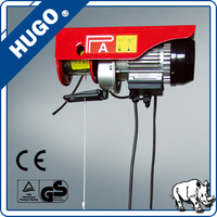 wire rope electric cable hoist Mini PA800 electric hoist