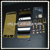for iPhone 5 24k gold plating back cover, for iPhone back cover