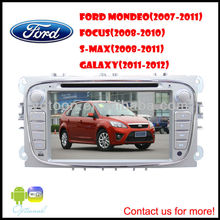 For Ford focus DVD GPS Player, HD/PIP/11 languages USB/SD/BT/IPOD/AV-in/AUX/ back view/car logo/wallpaper