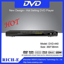 Big size full function dvd player with usb and sd card