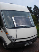 factory wholesale low price per watt 100w semiflexible solar panle for marine, boat