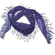 2012 Fashion lace cotton scarf
