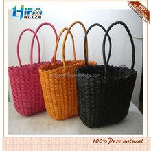 Qingdao HIFA Tropical fruit color PP straw bag PP Straw Handbags shopping bag
