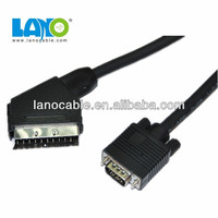 New! High performance vga cable to scart converter