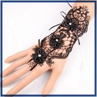 wholesale crystal wrap lace woven friendship bracelets human beings