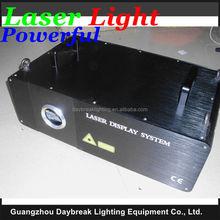 High power laser light 2W Animation Laser RGB Full Color AC110V -240V , 3D DMX512 Stage Laser Lighting 2000mw