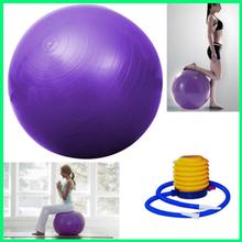 Anti Burst Exercise Balance Yoga Ball With Design Transparent Gym Ball Balance Peanut Ball
