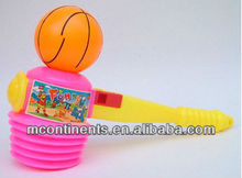 Kid's Plastic Hammer With Basketball