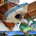 Mi dino- tamaño de la vida de los animales de dibujos animados de tiburón mando a distancia de tiburón
