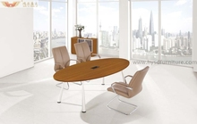 Hot sale Morden Design small round office meeting , Conference Table office furniture(HY-H08)
