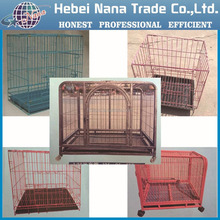 high quality portable foldable metal wire pet cage dog crate