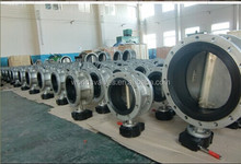 Tianjin Worlds manufacture specialized Stainless Steel /Cast Iron flange butterfly valve