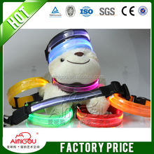 made in china low price outdoor led dog collar