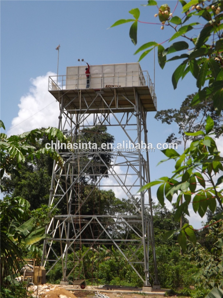 FRP water tank, grp panel section water tank for GRP water storage ...