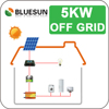 Roof installation 5kw off grid solar panel solar system for home