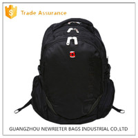 Unique personality ODM/OEM school bag for teens backpack of holding,swissgear computer backpack black