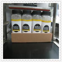 garlic powder garlic ground packing by bottle