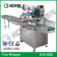 Pillow Bag Wrapping Pack Horizontal Flow Frozen Salmon Packaging Equipment Automatic Fillet Fish Packing Machine